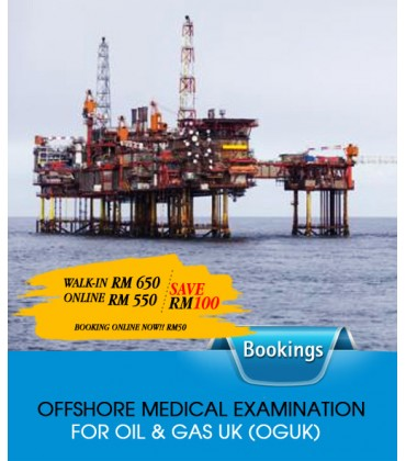 OFFSHORE OR ONSHORE MEDICAL EXAMINATION FOR OIL & GAS UK (OGUK)