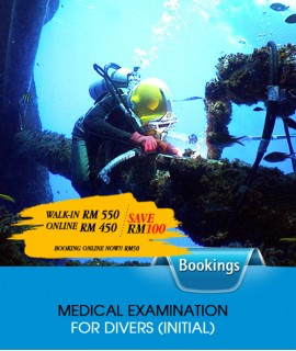 MEDICAL EXAMINATION FOR DIVERS (RENEW)