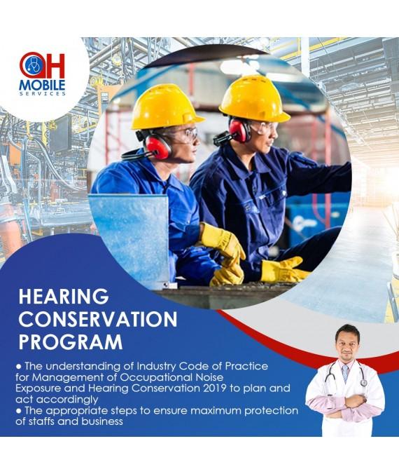 Hearing Conservation Program Training.