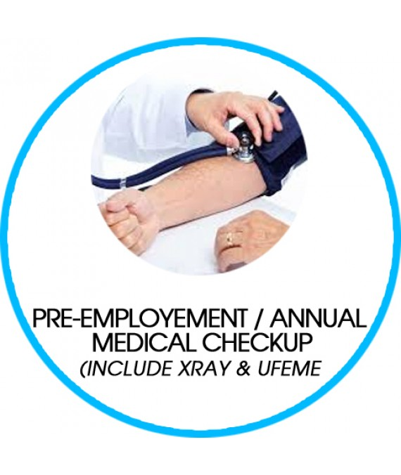 PRE-EMPLOYEMENT/ ANNUAL MEDICAL CHECKUP